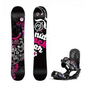 Zestaw Snowboardowy Nidecker Angel