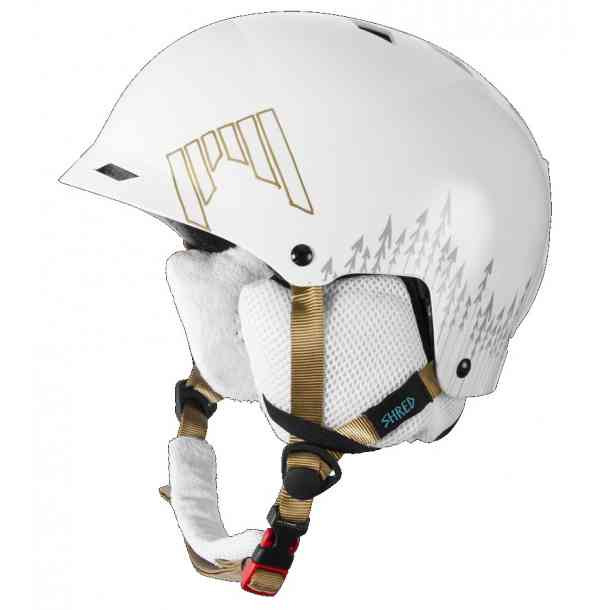 Kask Shred Half Brain White Out