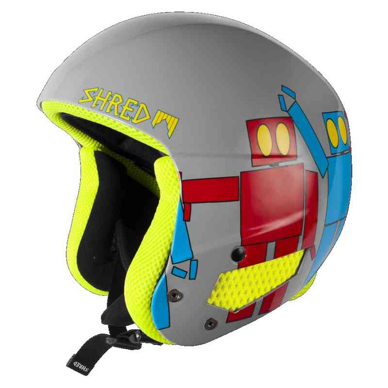 Kask shred mega brain bucket rh robot boogie for Housse requirements