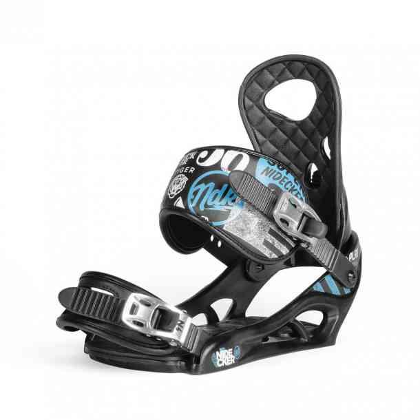 Wiązania Snowboardowe Nidecker Play Black L