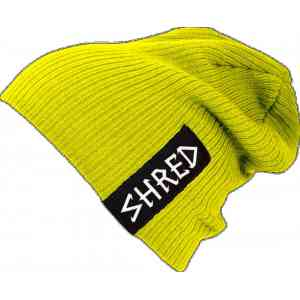 Czapka Shred PARK BEANIE HIGHLIGHT YELLOW