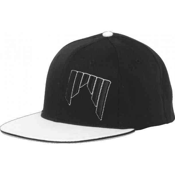 Shred FLATBRIM CAP BLACK/WHITE