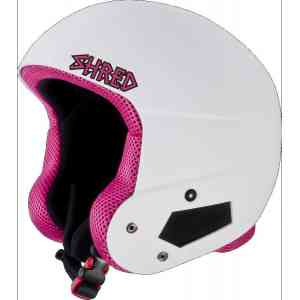 Kask  SHRED  BRAIN  BUCKET WHITEY PINKXS/S(54-56)