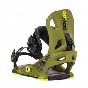 Wiązania Snowboardowe NOW IPO Army Green