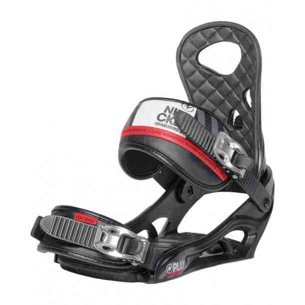 Wiązania Snowboardowe Nidecker Play Black/Red