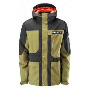 Men's Westbeach Temple Olive Black Snowboard Jacket