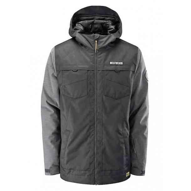 Men's Westbeach Spire Black Snowboard Jacket