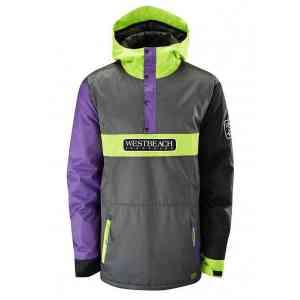 Men's Westbeach Fidelity Black Snowboard Jacket