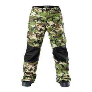 Men's Westbeach Howard Olive Snowboard Pants