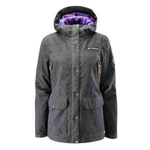 Men's Westbeach Cook Charcoal Marl Snowboard Jacket