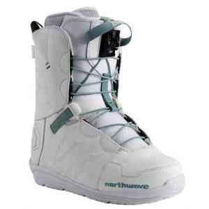 Womens Northwave Dahlia Black Snowboard Boots