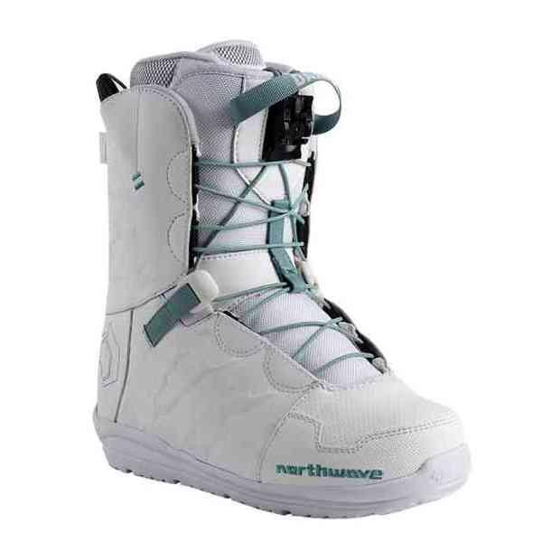 Damskie Buty Snowboardowe Northwave Dahlia White Sklep Snowboardowy Intersnow