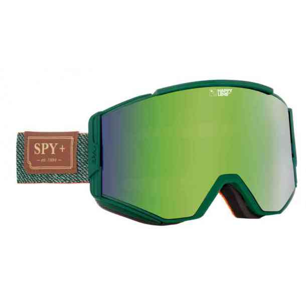 Gogle SPY ACE HUNTER GREEN - HAPPY GREEN SPECTRA + HAPPY LUCID SILVER (dodatkowa szybka)