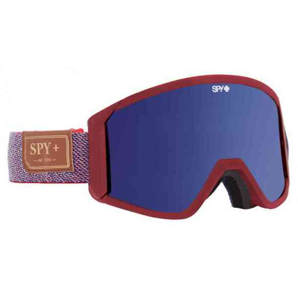 Gogle SPY RAIDER HUNTER RED - DARK BLUE SPECTRA + YELLOW (dodatkowa szybka)