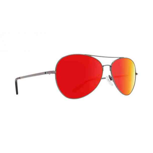 Okulary przeciwsłoneczne Spy Whistler (gunmetal gray green/red mirror)