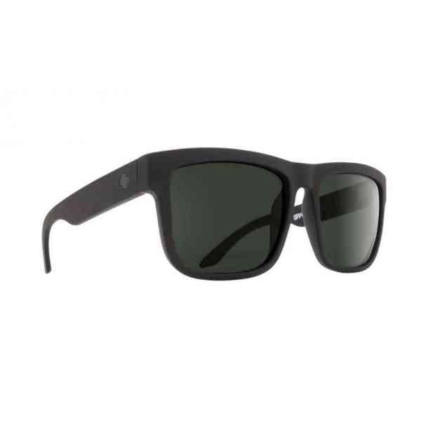 Okulary Przeciwsłoneczne Spy Discord Soft Matte Black - Happy Gray Green
