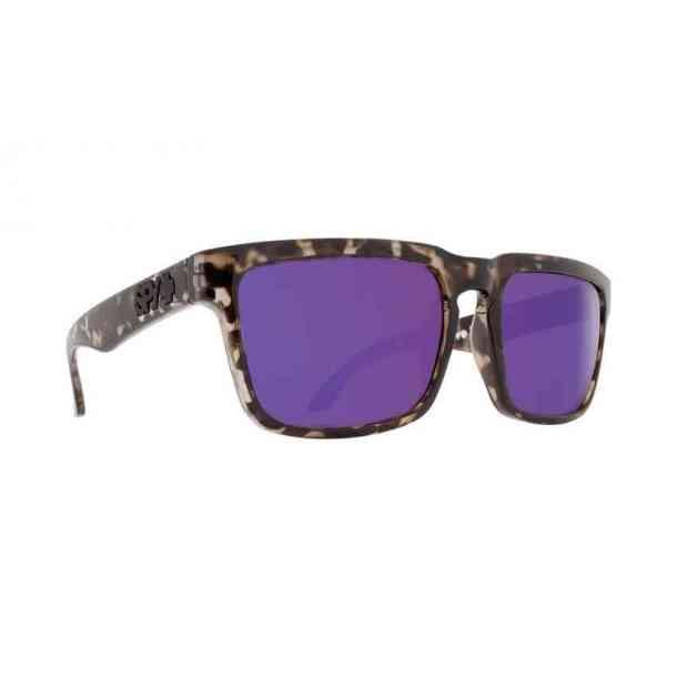 Okulary Przeciwsłoneczne Spy Helm Smoke Tort - Happy Bronze w/Purple Spectra