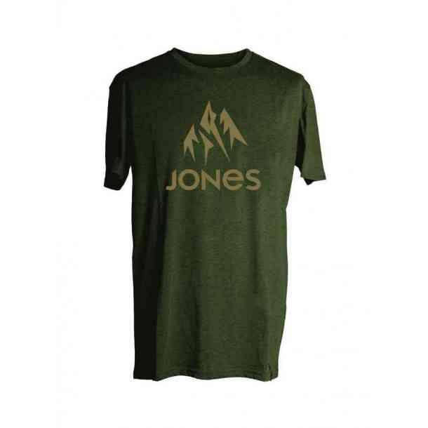 Koszulka Jones Truckee Tee Green Heather