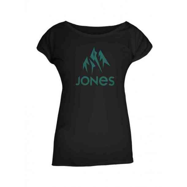 Koszulka Jones Women's Truckee Tee Plain Black