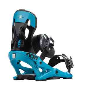 Now Pilot Black snowboard bindings