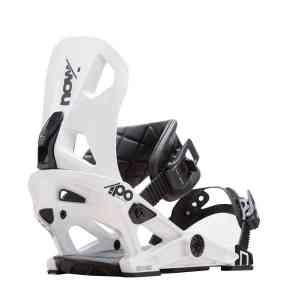 Wiązania Snowboardowe Now Ipo White