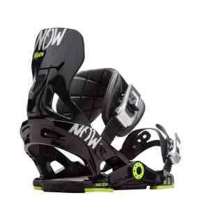 Now Now X Yes Black Snowboard Bindings