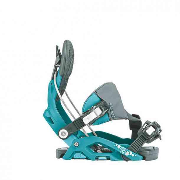 Wiązania Snowboardowe Flow Juno Hybrid Aqua