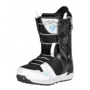 Buty Snowboardowe Nidecker Eva Speed Lace White/Black