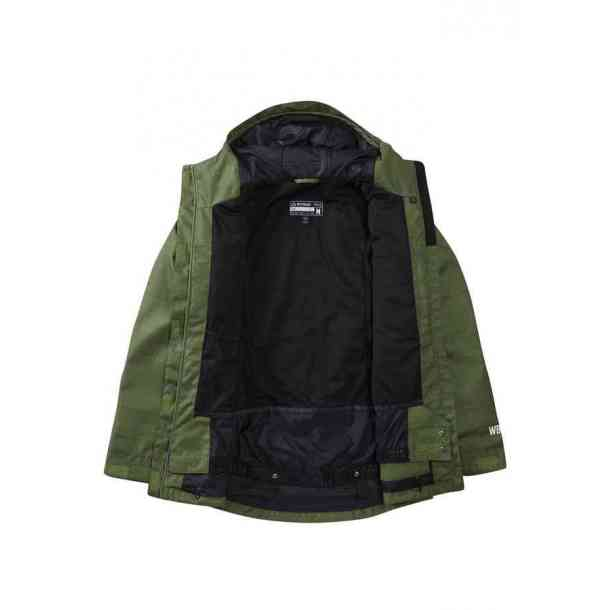 Womens Westbeach Dover Olive Snowboard Jacket