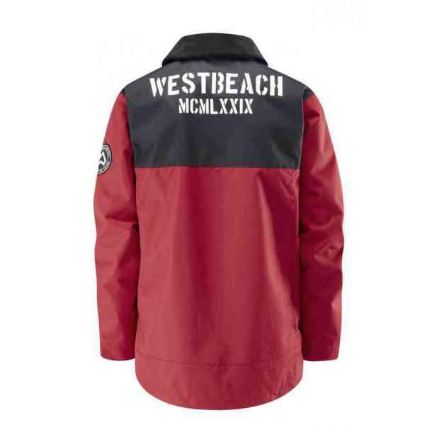 Męska Kurtka Snowboardowa Westbeach Duntless Chili Red