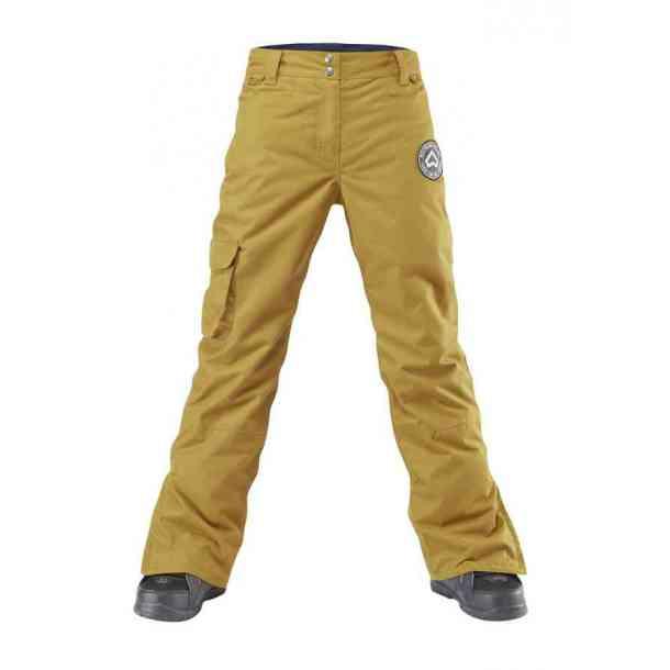 Damskie Spodnie Snowboardowe Westbeach Devotion Brown Sugar