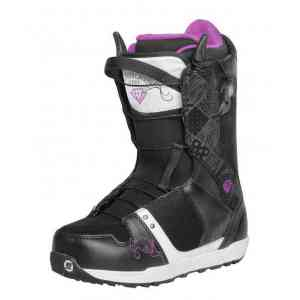 Nidecker Eva Speed Lace White/Black Snowboard Boots