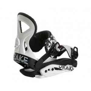 DRAKE' Jade Black Snowboard bindings