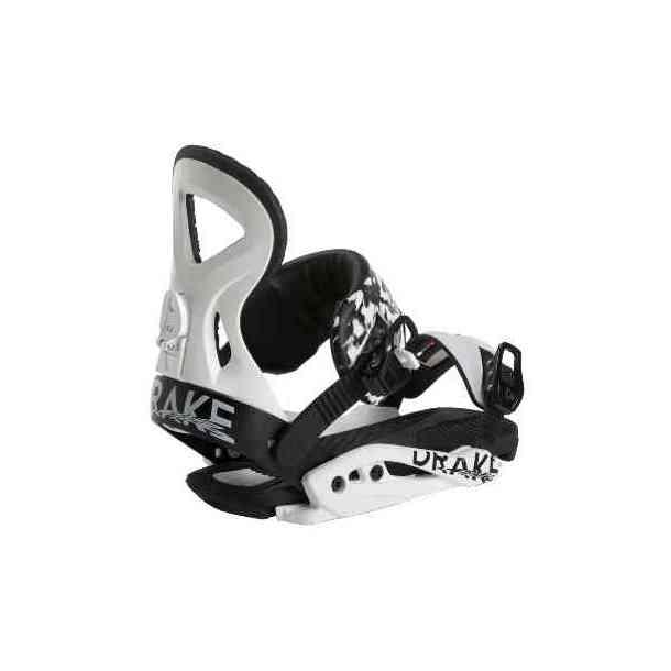 Damskie wiązania Snowboardowe Drake Jade White