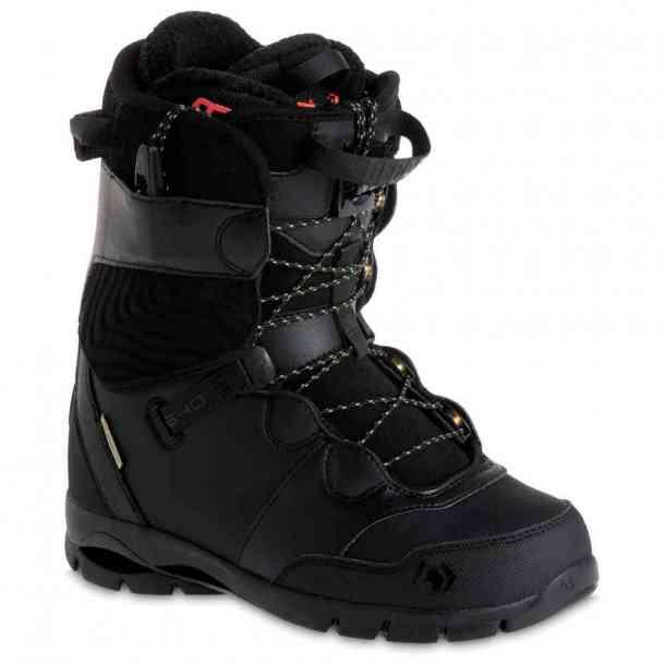 Mens Northwave Edge Black Snowboard Boots
