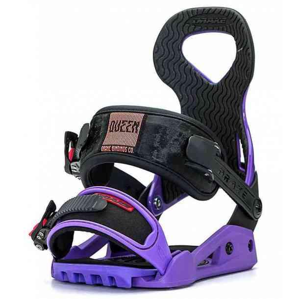 Damskie Wiązania Drake Queen Purple