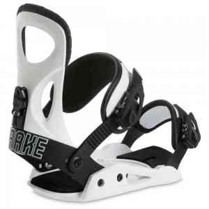 Męskie Wiązania Snowboardowe Drake King White