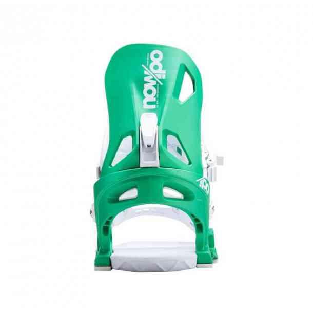 Wiązania Snowboardowe Now Ipo Green