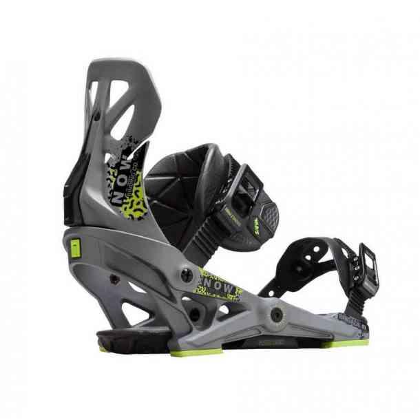 Wiązania Snowboardowe Now Brigade Grey