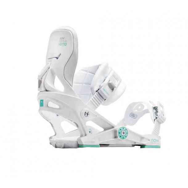 Wiązania Snowboardowe Now Vetta White