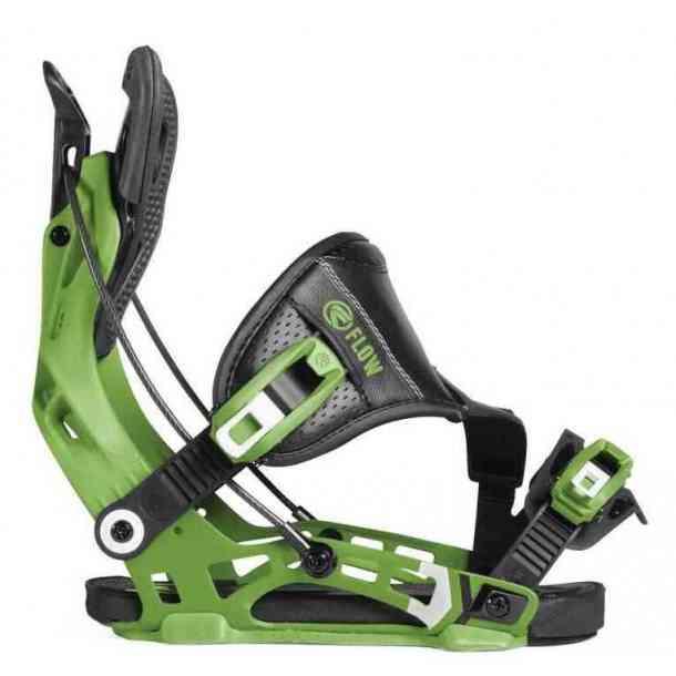Flow Bindings NX2 Hybrid Green