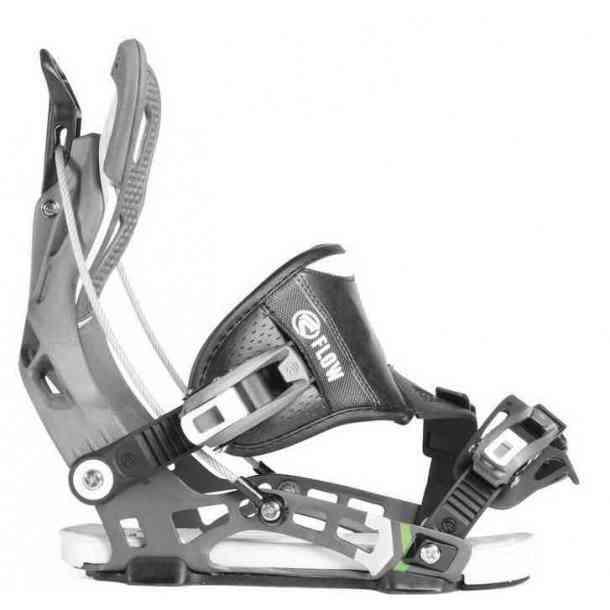 Wiązania Snowboardowe Flow NX2 Hybrid Space Grey