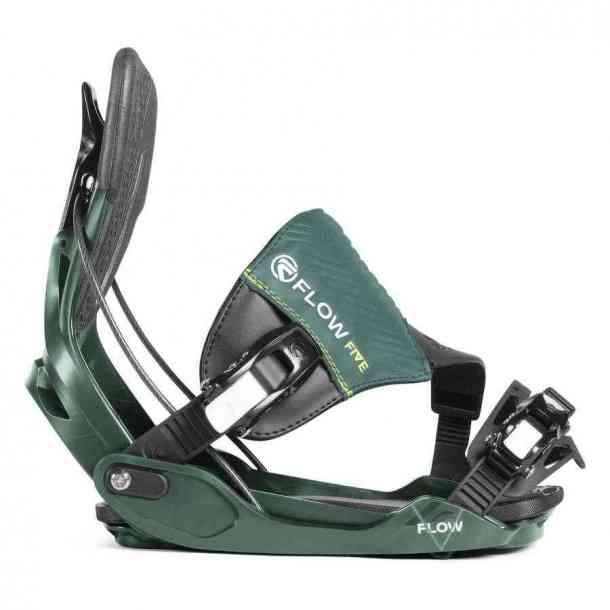 Wiązania Snowboardowe Flow Five Hybrid Teal