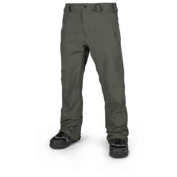 Spodnie Snowboardowe Volcom Freakin Snow Chino Black/Green