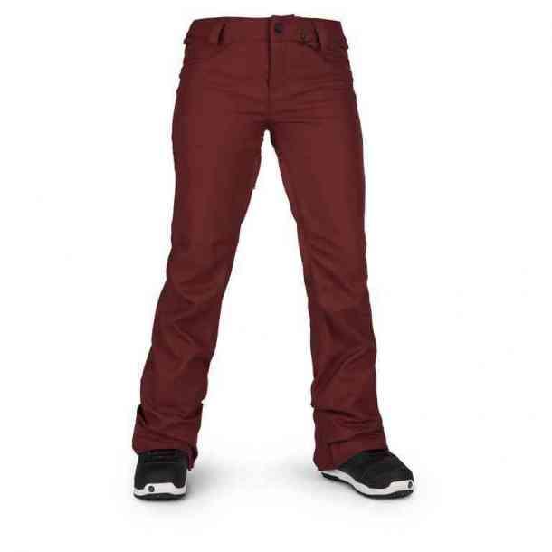 Spodnie Snowboardowe Volcom Species Stretch Burnt Red
