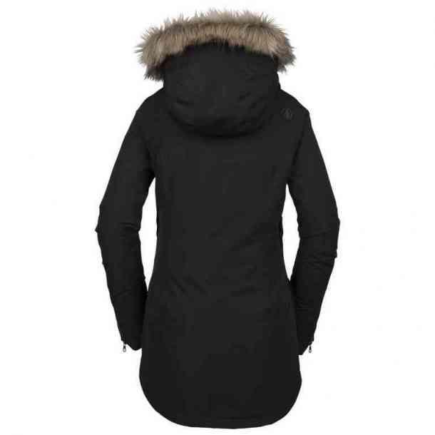 Kurtka Snowboardowa Volcom Fawn Insulated Black