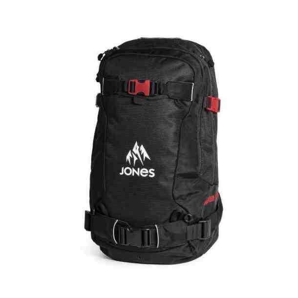 Plecak Jones Higher 30L R.A.S. Black Red