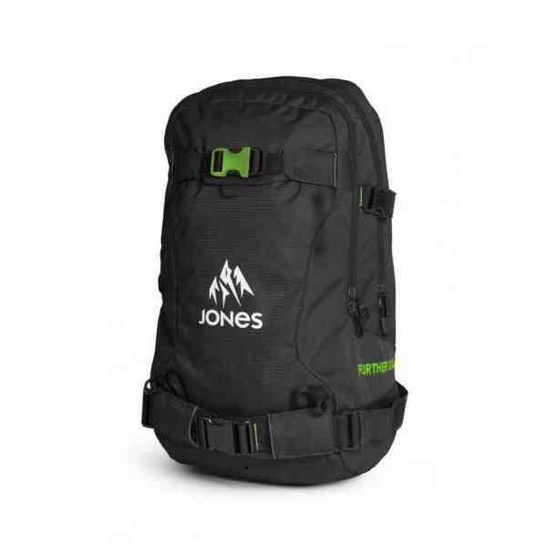 Plecak Jones Further 24L Black Green
