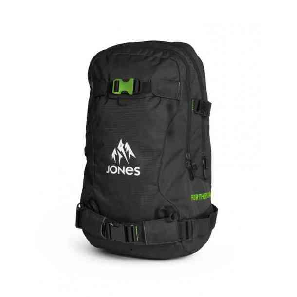 Plecak snowboardowy Jones Further 24L Black Green