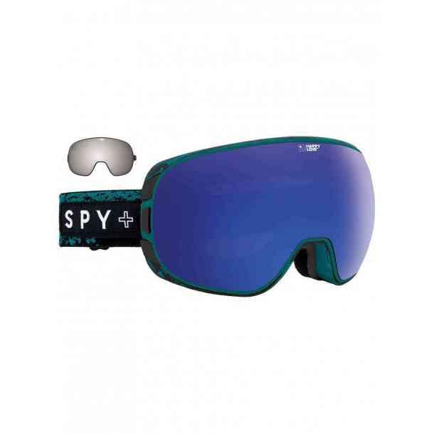 Gogle Spy Doom Masked Teal - Happy Bronze w/Dark Blue Spectra + Happy Persimon w/Silver Mirror